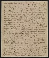 View Henry Inman letter to James McMurtrie digital asset: page 1