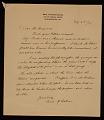 View Susan Macdowell Eakins, Philadelphia, Pa. folded sheet to Charles W. Cranmer digital asset number 0