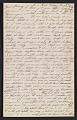 View Thomas Eakins letter to Frances Eakins digital asset number 0