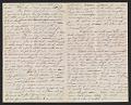 View Thomas Eakins letter to Frances Eakins digital asset number 1