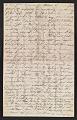 View Thomas Eakins letter to Frances Eakins digital asset number 2