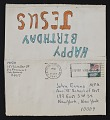 View HICO mail art to John Evans digital asset: verso