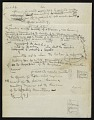 View Notes for a speech on the Constitution of the American Artists' Congress digital asset: verso