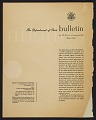View Department of State bulletin, vol. XX, no. 513 digital asset: cover verso