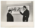 View Arshile Gorky and Fiorello La Guardia at the opening of the Federal Art Gallery digital asset number 0