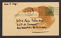 View Karl Priebe postcard to Sylvia Fein digital asset number 1