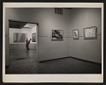 View Installation view of a Lorser Feitelson exhibition digital asset number 0