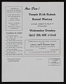 View Temple B'Rith Kodesh bulletin digital asset number 3