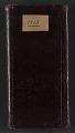 View Desmond Fitzgerald diary digital asset: cover