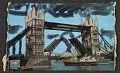 View Embellished postcard of the Tower Bridge in London digital asset number 0