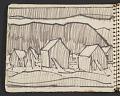 View James Fitzgerald sketchbook #1 digital asset: sketchbook page 15