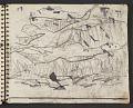 View James Fitzgerald sketchbook #1 digital asset: sketchbook page 23