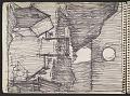 View James Fitzgerald sketchbook #9 digital asset: sketchbook page 1