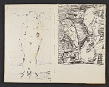 View James Fitzgerald sketchbook #18 digital asset: sketchbook page 1
