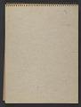View James Fitzgerald sketchbook #20 digital asset: cover back