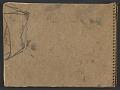 View James Fitzgerald sketchbook #21 digital asset: cover back