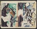 View James Fitzgerald sketchbook #3 digital asset: sketchbook page 5