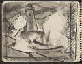 View James Fitzgerald sketchbook #3 digital asset: sketchbook page 6