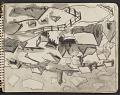 View James Fitzgerald sketchbook #3 digital asset: sketchbook page 9