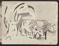 View James Fitzgerald sketchbook #3 digital asset: sketchbook page 13