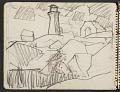 View James Fitzgerald sketchbook #3 digital asset: sketchbook page 18