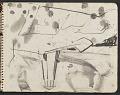 View James Fitzgerald sketchbook #3 digital asset: sketchbook page 21