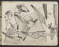 View James Fitzgerald sketchbook #3 digital asset: sketchbook page 25