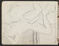 View James Fitzgerald sketchbook #3 digital asset: sketchbook page 32