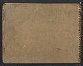 View James Fitzgerald sketchbook #3 digital asset: cover back