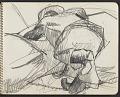 View James Fitzgerald sketchbook #4 digital asset: sketchbook page 7