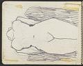 View James Fitzgerald sketchbook #4 digital asset: sketchbook page 12