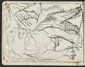 View James Fitzgerald sketchbook #4 digital asset: sketchbook page 14