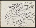 View James Fitzgerald sketchbook #4 digital asset: sketchbook page 16