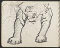 View James Fitzgerald sketchbook #4 digital asset: sketchbook page 17
