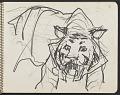 View James Fitzgerald sketchbook #4 digital asset: sketchbook page 18