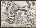 View James Fitzgerald sketchbook #4 digital asset: sketchbook page 21