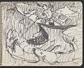View James Fitzgerald sketchbook #4 digital asset: sketchbook page 22