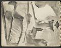 View James Fitzgerald sketchbook #5 digital asset: sketchbook page 9