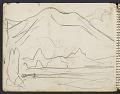 View James Fitzgerald sketchbook #5 digital asset: sketchbook page 13