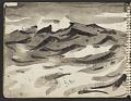 View James Fitzgerald sketchbook #5 digital asset: sketchbook page 20
