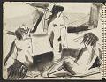 View James Fitzgerald sketchbook #5 digital asset: sketchbook page 40