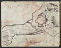View James Fitzgerald sketchbook #10 digital asset: sketchbook page 4
