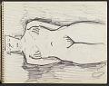 View James Fitzgerald sketchbook #10 digital asset: sketchbook page 5