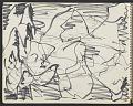 View James Fitzgerald sketchbook #10 digital asset: sketchbook page 8