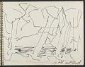 View James Fitzgerald sketchbook #10 digital asset: sketchbook page 9