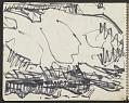 View James Fitzgerald sketchbook #10 digital asset: sketchbook page 10