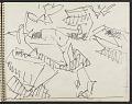 View James Fitzgerald sketchbook #10 digital asset: sketchbook page 14