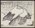 View James Fitzgerald sketchbook #10 digital asset: sketchbook page 19