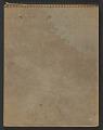 View James Fitzgerald sketchbook #10 digital asset: cover back