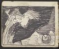 View James Fitzgerald sketchbook #11 digital asset: sketchbook page 6